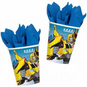 Transformers Robots in Disguise Paper Party Cups pk8