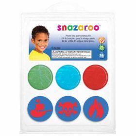 Snazaroo Pirate Face Paint Stamp Kit