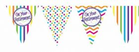 On Your Retirement Paper Bunting