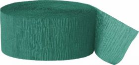 Emerald Green Crepe Streamer