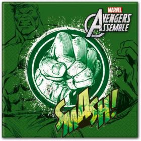 Avengers Teens Luncheon Napkins (HULK) pk20