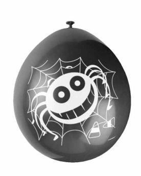 Spider Balloons pk10