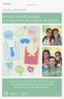 Baby Shower Photo Booth Props pk10