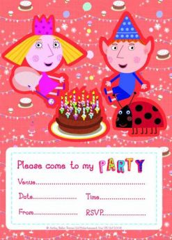 Ben & Holly Invitations
