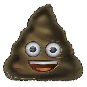 Emoji Poop Giant Foil Balloon 32''