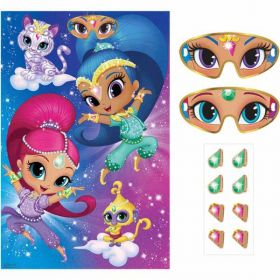 Shimmer & Shine Pin the Party Game
