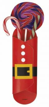 Santa Christmas Sweet Holders pk8
