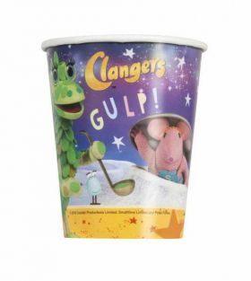 Clangers Paper Cups pk8