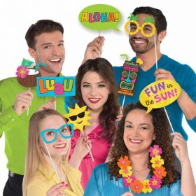 Hawaiian Luau Photo Props, pk13