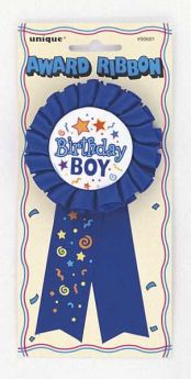 Birthday Boy Award Ribbon