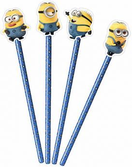 Minions Pencil with Topper