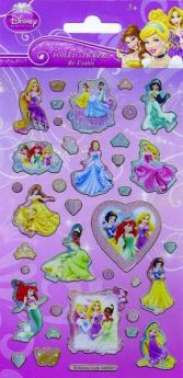Disney Princess Re-Usable Foil Sticker Sheet