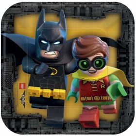 LEGO Batman Movie Paper Plates pk8 18cm