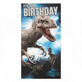 Jurassic World It's Your Birthday Card