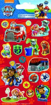 Paw Patrol Fun Foil Re-usable Sticker Sheet