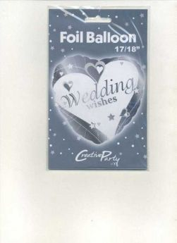 Wedding Wishes Foil Balloon