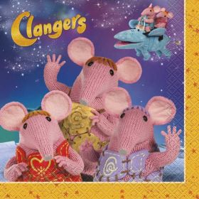 Clangers Party Paper Napkins pk16