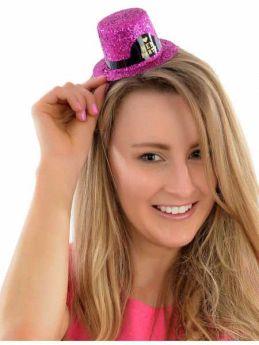 Hen Party Mini Glitter Hat