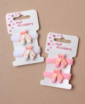 Ballet Shoes pk2 pony hairbands