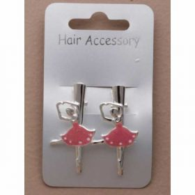 Card of 2 ballerina beak clips