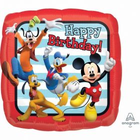 Mickey Roadster Happy Birthday Standard Foil Balloon