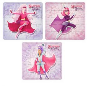 Super Girls Puzzle