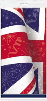 Best of British Party Tablecover 1.37m 2.13m
