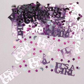 It's a Girl Metalic Confetti 14g