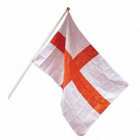 England Flag with Pole & Mount 1.5m x 90cm
