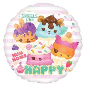 Num Noms Standrad HX Foil Balloon