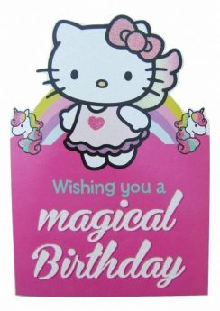 Hello Kitty No Age Favourite Card