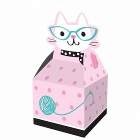Purr-fect Party Favour Boxes, pk8