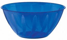 Bright Royal Blue Swirl Bowl 4.73l