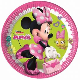 Disney Minnie Mouse Plates 23cm, pk8