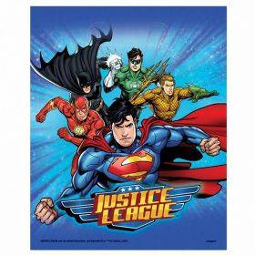 Justice League Loot Bags, pk8