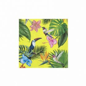 Tropical Fiesta Bright Party Napkins, pk20