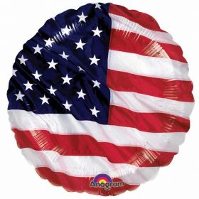"USA Flying Colours Standard Foil Balloon 18""/45cm"