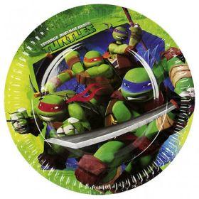 Teenage Mutant Ninja Turtles Paper Plates 18cm