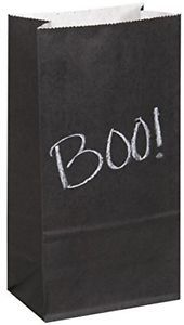 Chalk Paper Party Bags pk8