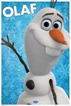 Disney Frozen Olaf Poster