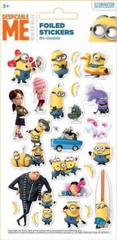 Despicable Me Fun Foiled Stickers