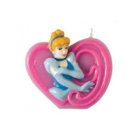 Disney Princess Cinderella Party Candle No 9