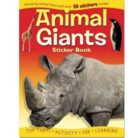 Animal Giants Activity Book