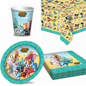 Animal Jam Party Tableware Pack for 8