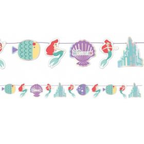 Ariel Under The Sea Paper Garland Kit 2m