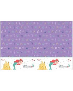 Ariel Under The Sea Plastic Table Cover 1.2m x 1.8m