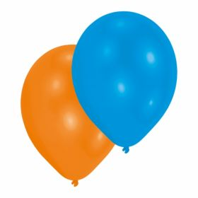 Assorted Colours Latex Balloons pk50