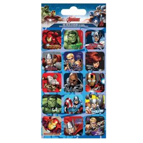 Marvel Avengers Foil Captions Stickers