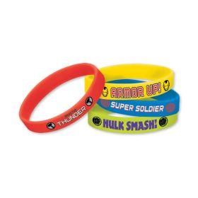 Avengers Assemble Bracelets pk4
