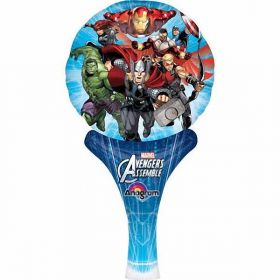 Avengers Assemble Inflate a Fun Air Fill Balloon 6''